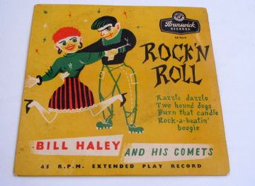 Bill Haley And His Comets ROCK 'N' ROLL  1956 UK EP  EX AUDIO